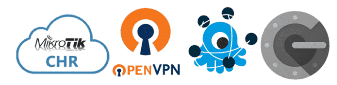 CHR/MKT Openvpn 2FA with Freeradius and Google Authenticator.